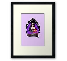 The Evil Queen- Once Upon A Time Framed Print