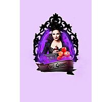 The Evil Queen- Once Upon A Time Photographic Print