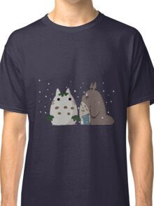 Snow Totoro Classic T-Shirt