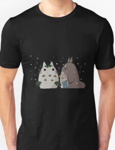 Snow Totoro Unisex T-Shirt