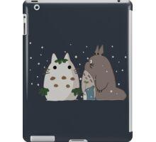 Snow Totoro iPad Case/Skin