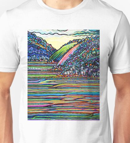 Tide on the turn - D'Entrecasteaux Channel Tasmania Unisex T-Shirt