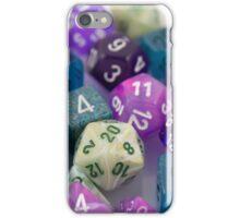 Blue and Purple Dice iPhone Case/Skin