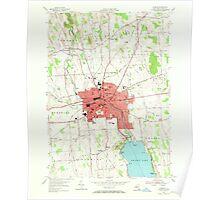New York NY Auburn 136738 1954 24000 Poster