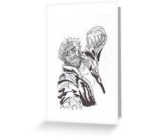 Rick Grimes Greeting Card
