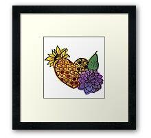 BeeHive Love Color Framed Print