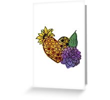 BeeHive Love Color Greeting Card