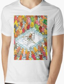 Dance Gavin Dance Mens V-Neck T-Shirt