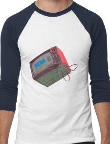 RETRO CRT - SEGA Sonic Men's Baseball ¾ T-Shirt