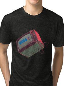 RETRO CRT - SEGA Sonic Tri-blend T-Shirt