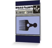Digable Planets - Blowout Comb Greeting Card