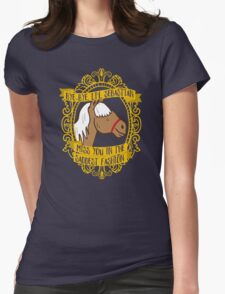 5000 Candles in the Wind Womens Fitted T-Shirt