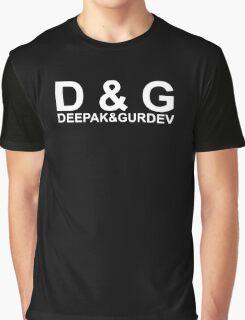 Kurupt Fm Deepak & Gurdev D&G Logo Graphic T-Shirt