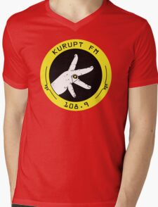 Kurupt Fm Throw Up Your K's Mens V-Neck T-Shirt