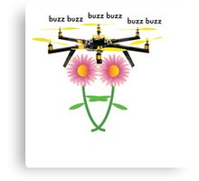 Bee the Drone  Canvas Print