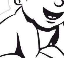 wc baby sitting Sticker