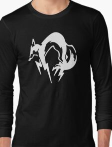 Metal Gear Solid Fox Hound Special Forces Group Plain Logo Long Sleeve T-Shirt