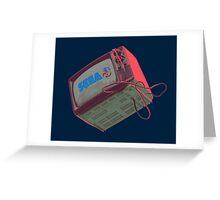 RETRO CRT - SEGA Sonic Greeting Card