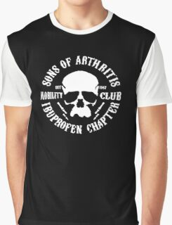 Sons Of Arthritis Funny SOA Parody Graphic T-Shirt