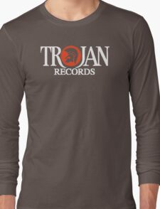 Trojan Records Label Long Sleeve T-Shirt