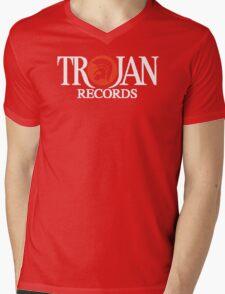 Trojan Records Label Mens V-Neck T-Shirt