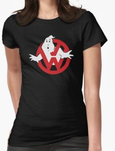 VW Volkswagen Ghostbusters Womens Fitted T-Shirt