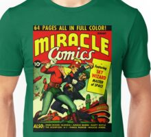 RETRO Golden Age Comic Book Cover Miracle Comics Unisex T-Shirt