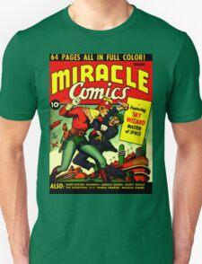 RETRO Golden Age Comic Book Cover Miracle Comics T-Shirt