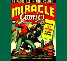 RETRO Golden Age Comic Book Cover Miracle Comics Unisex T-Shirt