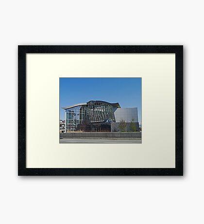 Alaskan Railroad Depot, Anchorage, Alaska Framed Print