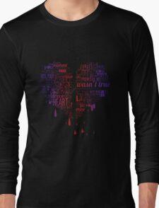 Heartbroken Typography Long Sleeve T-Shirt