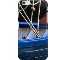 A wooden boat iPhone Case/Skin
