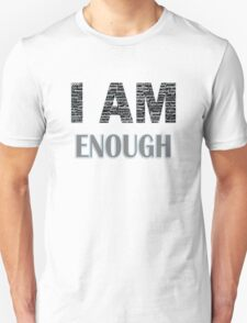 I Am Enough (Blue) Unisex T-Shirt