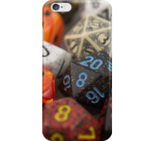 Fire and Blood Dice iPhone Case/Skin