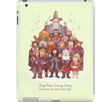 The loudest carollers in Middle Earth iPad Case/Skin