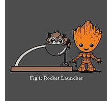 Rocket Launcher Photographic Print
