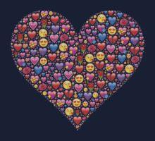 heart emoji One Piece - Long Sleeve