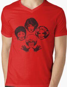 Miami Royalty Distressed Variant Mens V-Neck T-Shirt