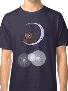 Mid Century Modern Night Owl Classic T-Shirt