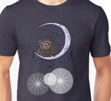 Mid Century Modern Night Owl Unisex T-Shirt