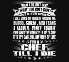 Chef T-shirt , , badass job title,swedish chef, beaker, bunsen,cooking, cooking pot, cooking chef, cooking with wine, by tommyendy