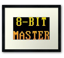 8-Bit Master Framed Print