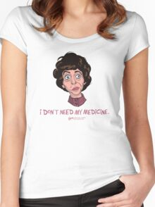 The Neighbor Women's Fitted Scoop T-Shirt