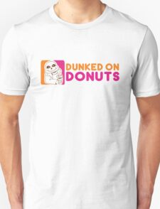 Dunked On Donuts Unisex T-Shirt