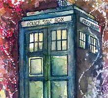 Doctor Who Tardis by totoina