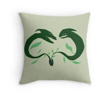 Seed Dragons   Throw Pillow