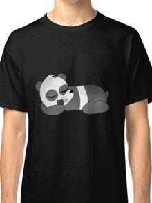 We Bare Bears Panda Sleeping Classic T-Shirt
