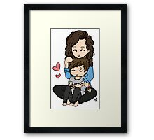 Harry and Louis Love Framed Print