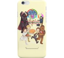 Curse those thieving, silent Jedi Knights (and on Christmas too!) iPhone Case/Skin
