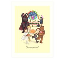 Curse those thieving, silent Jedi Knights (and on Christmas too!) Art Print